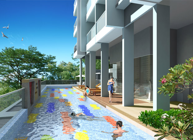Lap Pool [Artist Impression]