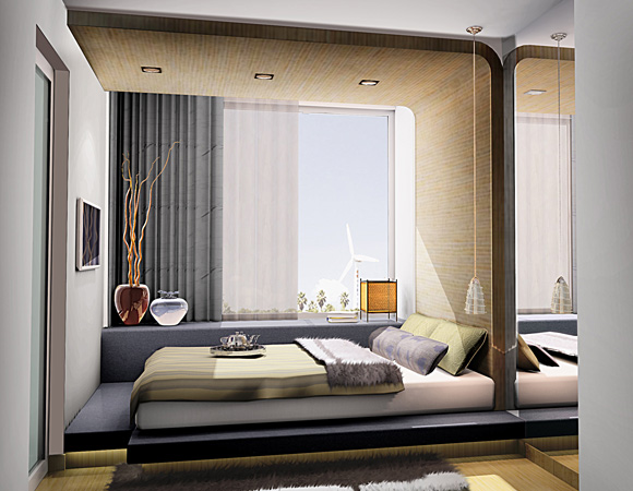 Bedroom [Artistic Impression]