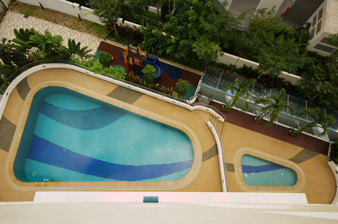 Lap Pool with Children's Pool